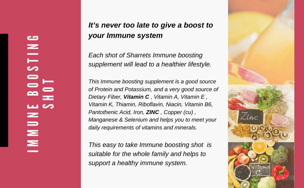 best supplements for immunity- Sharrets Nutritions