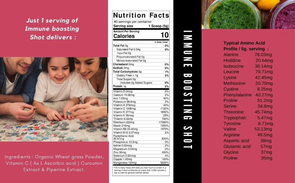 immune boosting supplement - Sharrets Nutritions