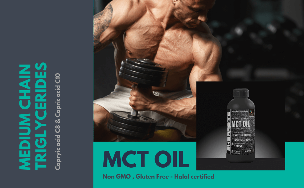 mct oil in india- Sharrets Nutritions