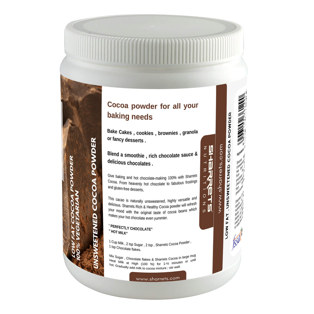 Cocoa powder natural - Sharrets Nutritions LLP, India