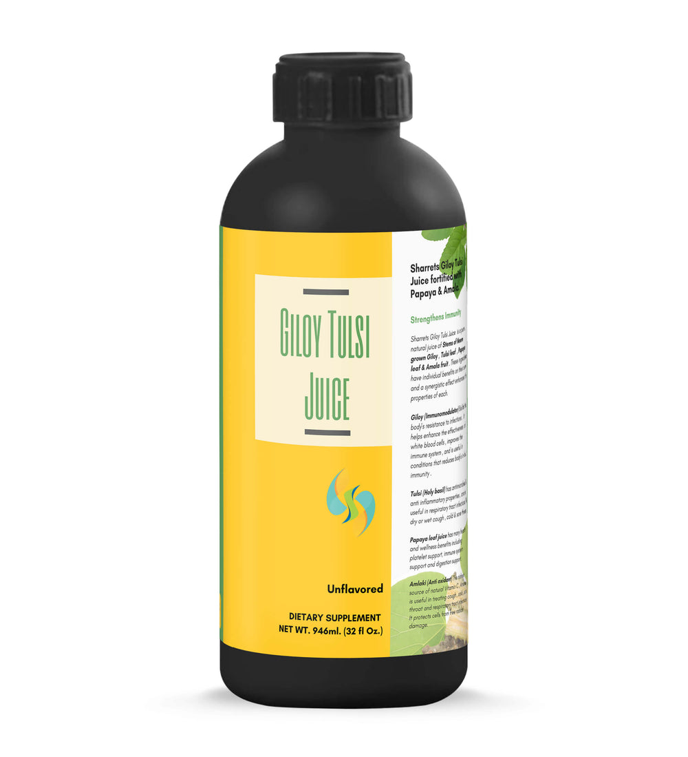 natural immunity supplement- giloy tulsi - sharrets nutritions