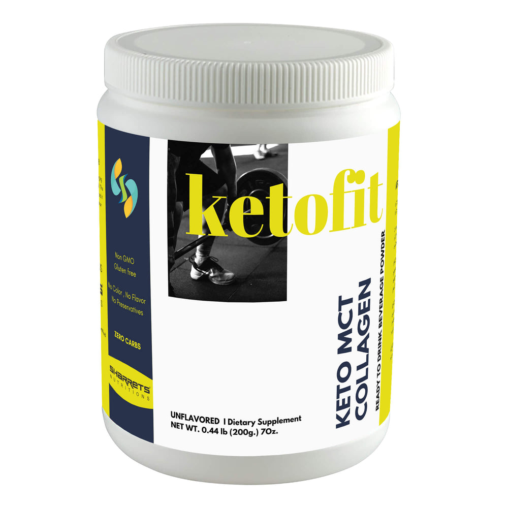keto mct collagen powder - Sharrets Nutritions LLP