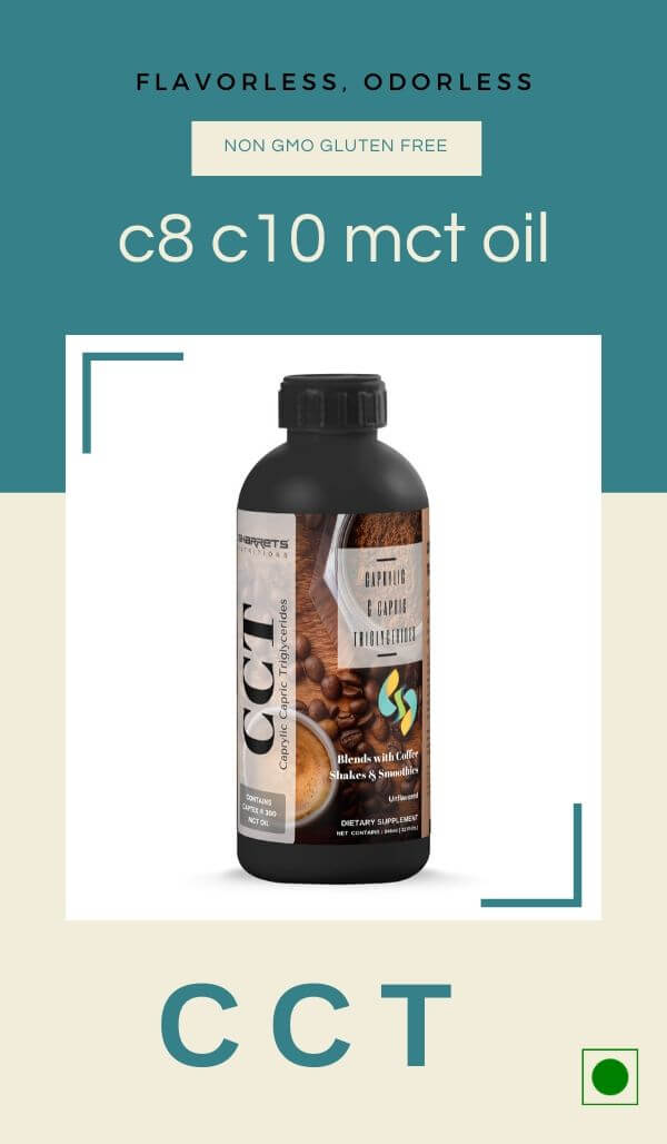 pure c8 c10 mct oil - Sharrets Nutritions