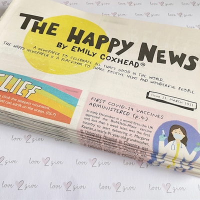 The Happy Newspaper Issue 21
