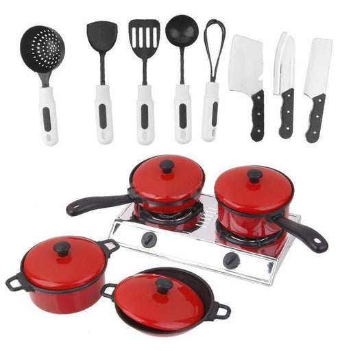 1/12 Kitchenware Cookware Set for Dolls House Miniature