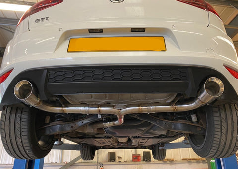 VW Golf MK7 & MK7.5 2.0 GTI - Back Box Delete Pipe Dynamics Performance Exhaust