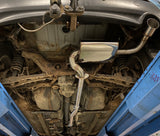 Mitsubishi ASX 1.8 Diesel 150bhp - Replacement exhaust from DPF back (middle and Rear) Pipe Dynamics ASX