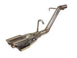 Ford Fiesta Ecoboost 1.0 MK7 & MK7.5 - Back Box Delete pipedynamics Performance Exhaust