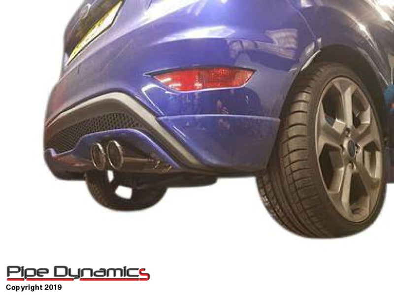 Ford Fiesta ST180 - Back Box Delete - in rolled pipe dynamics st180