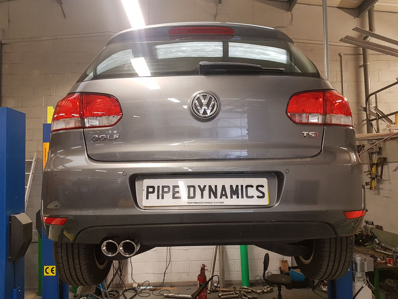 VW Golf MK6 1.4tsi (122bhp)  Back Box Delete Pipe Dynamics Golf