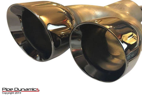 Ford Fiesta Ecoboost 1.0 MK7 & MK7.5 - Back Box Delete - Black pipedynamics Performance Exhaust