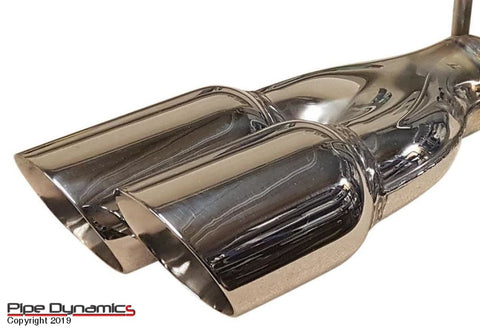 MK7 & MK7.5 Fiesta 1.0 Ecoboost Back Box Delete pipedynamics Performance Exhaust