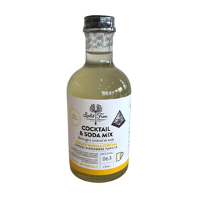 Split Tree Ginger Vanilla Cordial cocktail mix