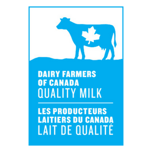 Dairy Farmers of Canada blue cow logo