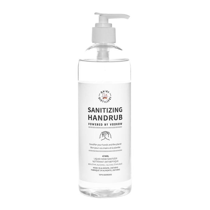 Sanitizing Handrub -  473ml (16oz) Pump