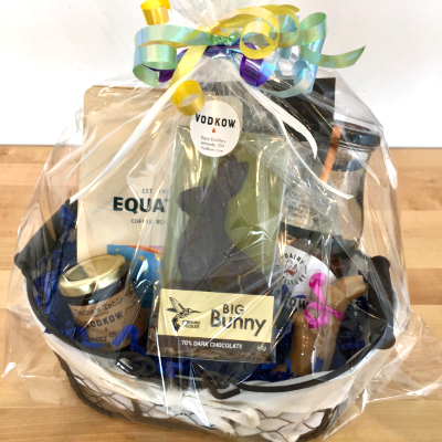 Easter Gift Basket 500ml Vodkow