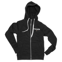 Load image into Gallery viewer, VODKOW Full-Zip Hooded Sweatshirt (Ladies)