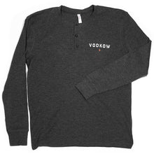 Load image into Gallery viewer, VODKOW Vintage Thermal Long-Sleeved Henley (Men)