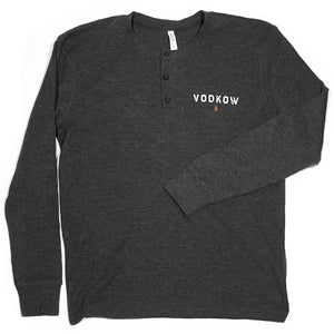 VODKOW Vintage Thermal Long-Sleeved Henley (Men)