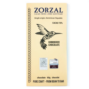 Dark Chocolate Zorzal 70% Cacao
