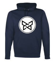 Load image into Gallery viewer, 100% Polyester Fleece Hoodie - True Navy