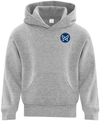 Youth Cotton Fleece Hooded Sweatshirt