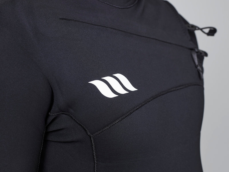 Deluxe 3x2 Steamer Mens Wetsuit - Chest Zip