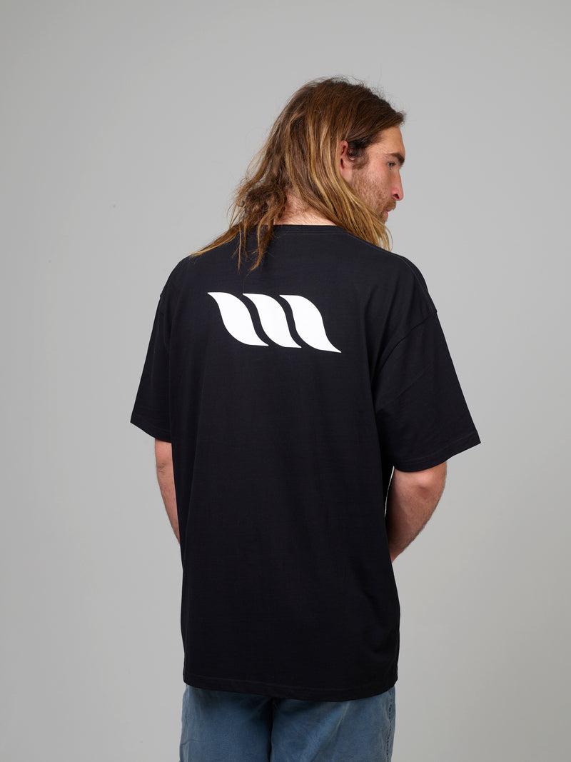 Mens Block T-Shirt - Black