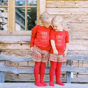 T-Shirt Love you sis - Kids