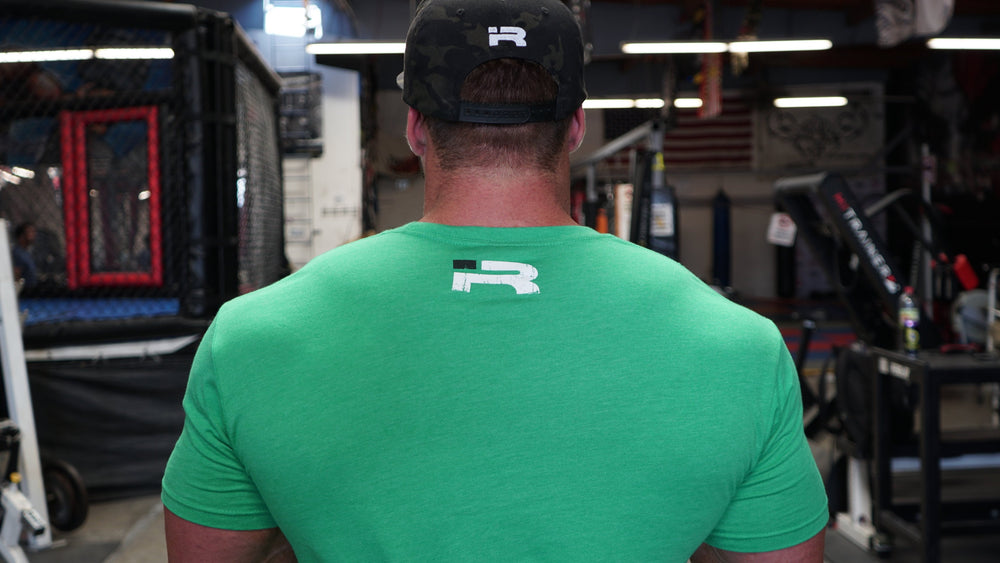 "FORGED - Triblend Shirt (Green) SIZE ""XS"" ONLY"