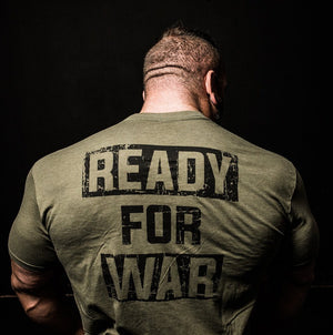 Load image into Gallery viewer, READY FOR WAR - Shirt (Army) Unisex