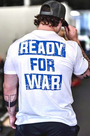 READY FOR WAR TEE (WHITE)