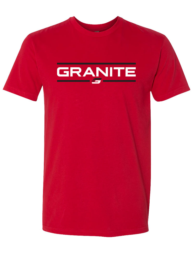 GRANITE CHISELED T-SHIRT (RED)