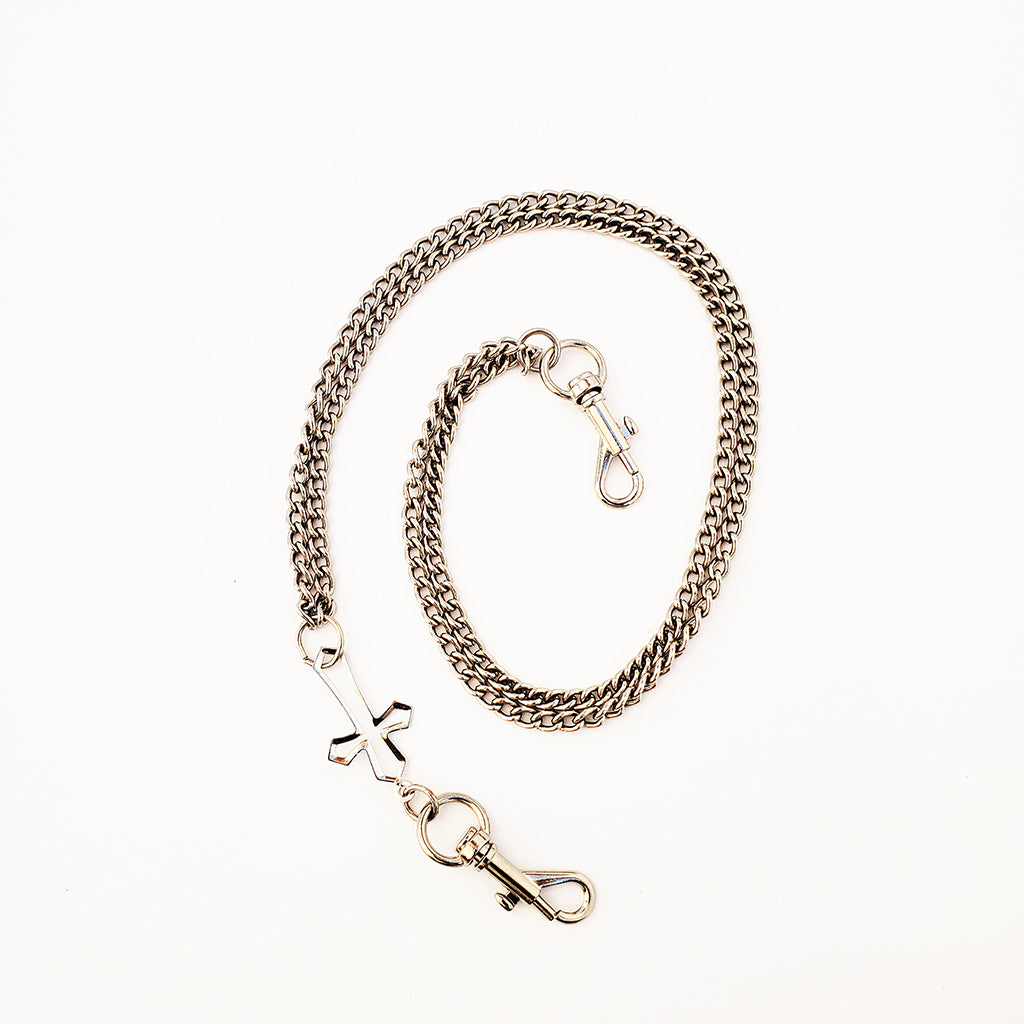 Hollow Cross Cable Chain Belt