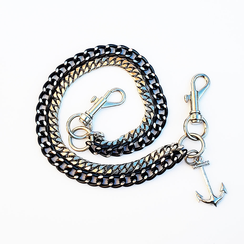 Anchor Double Layered Chain Belt