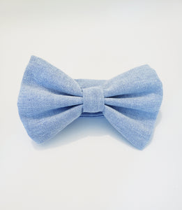 GRAVITY DENIM BOW TIE