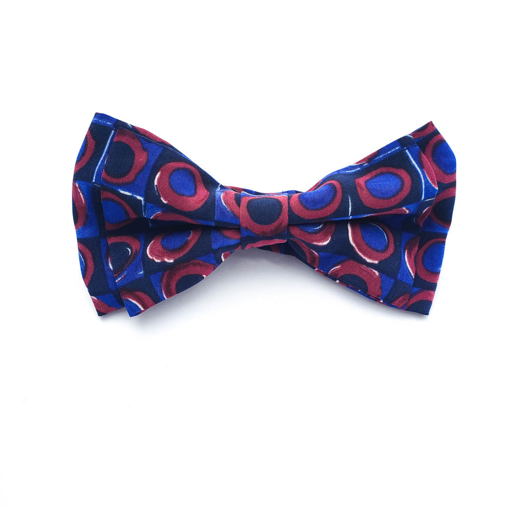 LIKE FATHER, LIKE SON FATHERS DAY GIFTS - KALEIDOSCOPE BOW TIE