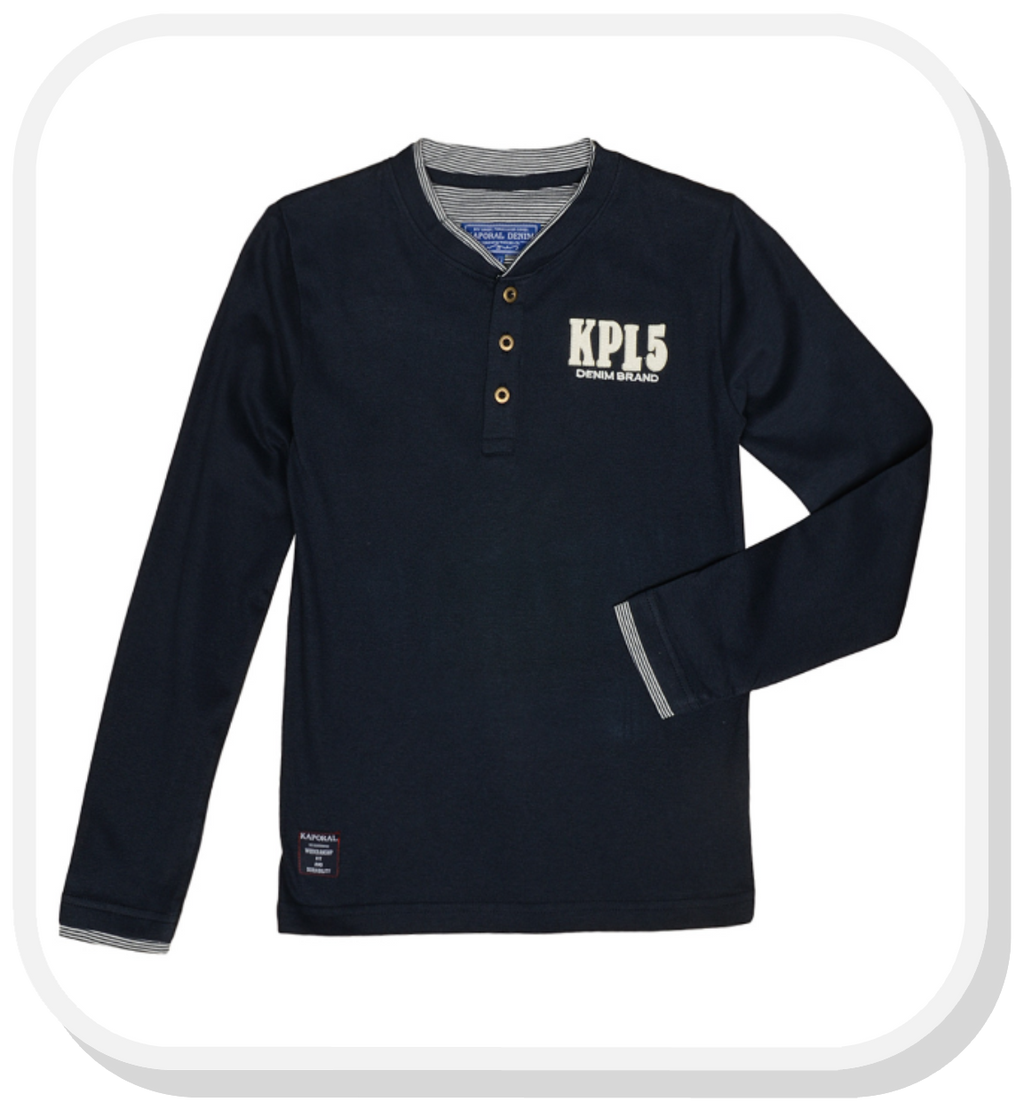 KAPORAL NAVY BLUE LONG SLEEVE SHIRT