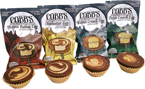 Cobb's Chilled Chocolate Cups | Lineup