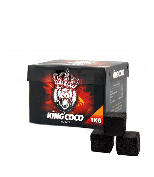 KING COCO - Carbón natural 28mm