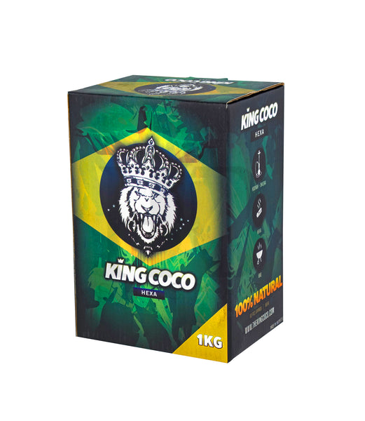 KING COCO HEXA - Carbón natural 1Kg