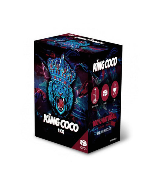 KING COCO KALOUD - Carbón natural 1Kg