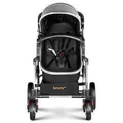 Single Space Grey Stroller