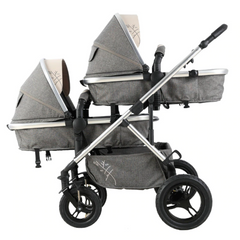 Double Carriage Baby Stroller
