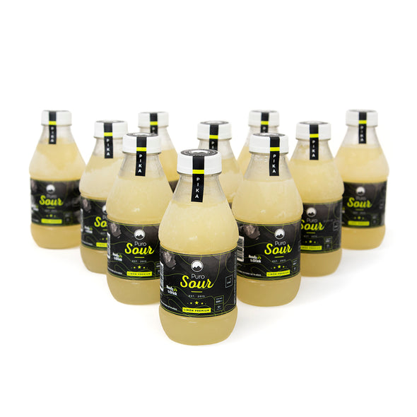 10-PACK PIKA (10 Botellas de Pisco Sour Limón Premium)