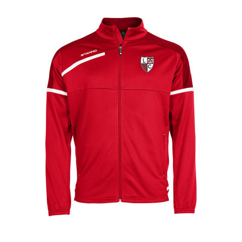 Lochaber Camanachd Youths Prestige Full Zip Top Red