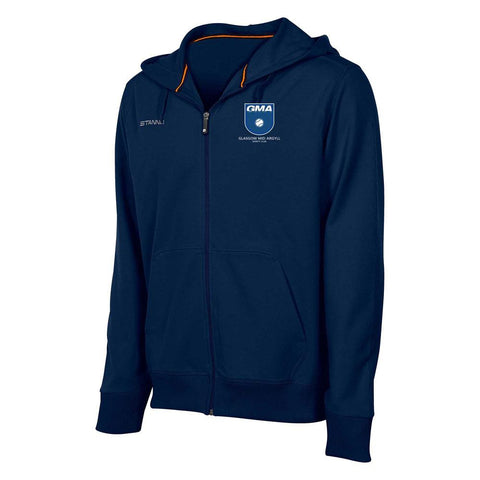 Glasgow Mid Argyll Centro Hooded Zipped Sweat Navy