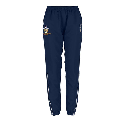 Clydesdale Western Hockey Club Ladies Woven Pants Navy