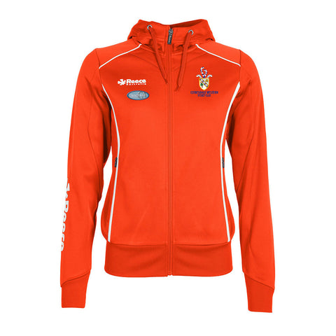 Clydesdale Western Hockey Club Ladies TTS Hoodie Orange