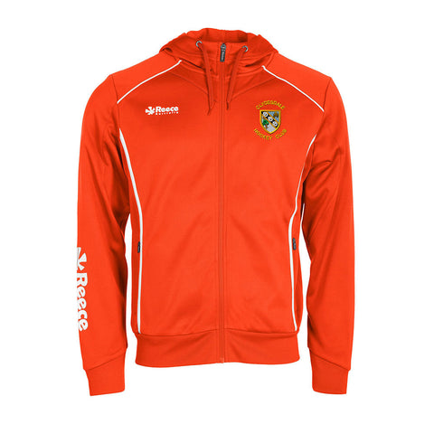 Clydesdale Hockey Club Mens TTS Hoodie Orange